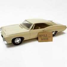 1968 CHEVROLET IMPALA 427 SS Original Dealer Model Impala White Plastic US RARE!