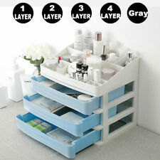 Plastic Cosmetic Storage Drawer Make-up Organizer Sundry Desktop Box With Drawer