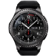 Genuina SAMSUNG GEAR S3 Reloj inteligente Bluetooth Reloj NFC frontera SM-R760 Negro