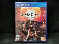 Black Clover: Quartet Knights (Sony PlayStation 4, 2018) BRAND NEW/ Region Free