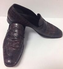 Tom Ford Shoe Chocolate Alligator Size T8 US9