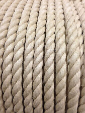 NATURAL HEMP ROPE (20mm) Traditional Rope, Natural Rope, Climbing Rope, Hemp