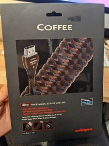"""AudioQuest Coffee HDMI Digital Cable W/ Ethernet Connection (0.6 Meter)(2'0"""")"""
