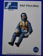 1/32 British Empire pilot 1960s-70s PJ Production resin Hunter Buccaneer