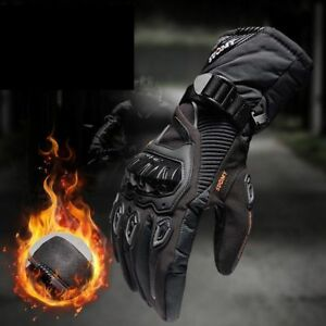Motorcycle Gloves Waterproof Windproof Winter Warm Moto Touch Screen Protective