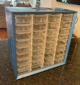 Vintage Akro-Mils 36 drawer Small Parts Organizer Storage Cabinet