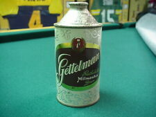Gettelman Milwaukee 12oz, Cone Top Beer Can Nice Nice