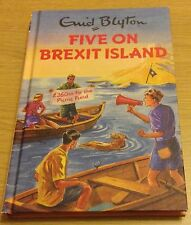 FIVE ON BREXIT ISLAND Enid Blyton Famous Five Book (Hardback)