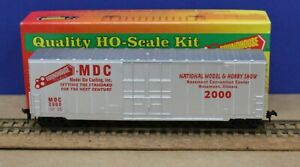 Roundhouse MDC HO 50' Boxcar National Model & Hobby Show 2000 Factory Blt Sample