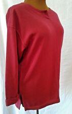 Red Longsleeve Shirt Women's size Medium Cinplex 3/4 Sleeve Ribbed T-shirt Top