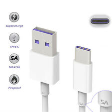 1M Type C USB 3.1  4.5V 5A Charging Data Cable T6 for Huawei Mate 9 Smart Phone