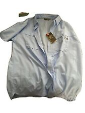 Mens Under Armour Fishing Shirt Size Large Nwt