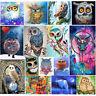 Owl 5D Diamond Painting DIY Hand Embroidery Cross Stitch Craft Kit Home Decor