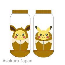 Pokemon Pikachu Nebukuro Sleeping Bag Collection Socks for Women Eevee 1 Pair