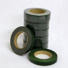 12 x Dark Green Florists Stem Tape