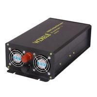 1500W Pure Sine Wave Inverter 12V to 120V DC to AC Power Inverter Solar system