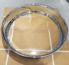 2) 28x5 outer barrel hoop 50 Hole chrome lip fits hre Asanti Forgiato Amani Dub