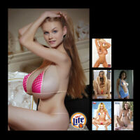"""Z•1691 # Sweet Sexy Cute Beer Girl Swim Suit Glossy Photos 4""""x6"""" Mini Poster"""