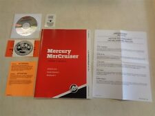 MERCURY MERCRUISER OWNERS MANUAL & CD INBOARD & STERN DRIVES 90-8M0087980 BOAT