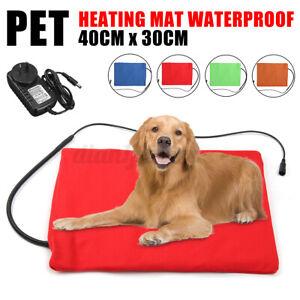 12V Electric Waterproof Pet Heat Pad Cat Dog Puppy Bed Heated Mat Blanket Mat