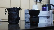Panasonic Leica Lumix 25mm F1.4 ASPH DG Summilux (Micro Four Thirds) lens