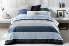 SHERIDAN CANNAN CHAMBRAY DOUBLE QUILT COVER SET  - FULLY REVERSIBLE -