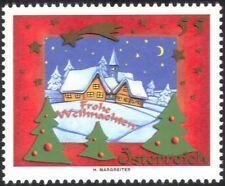 Austria 2005 Natale/Saluti/case/edifici/Neve/alberi/ANIMAZIONE 1v at1112