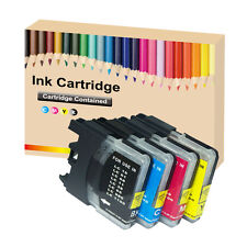 4 LC980 LC1100 ink Cartridge for Brother DCP 165C 185C 195C 197C 365CN 375CW 2