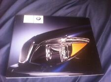 2007 BMW 7 Series USA Market 80Page Color Brochure Catalog Prospekt