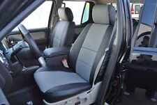FORD EXPLORER SPORT TRAC 2001-2005 IGGEE S.LEATHER CUSTOM SEAT COVER 13COLORS
