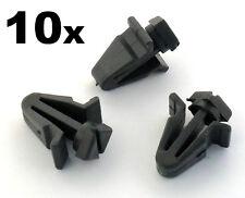 10 x Molduras de plástico -clips para parrilla, REJILLA DELANTERA CLIPS On Some
