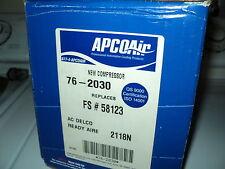 APCO AIR AC COMPRESSOR W/CLUTCH ASSY NEW 76-2030 FORD LINCOLN MERCURY