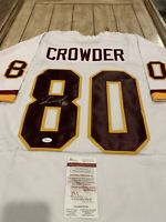 Jamison Crowder Autographed/Signed Jersey JSA COA Washington Redskins