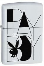 Zippo 28268 playboy bunny logo white matte Lighter