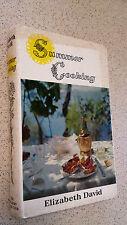 SUMMER COOKING elizabeth david HBDJ 1968