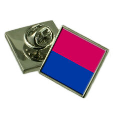 Venlo Netherlands Flag Lapel Pin Engraved Box
