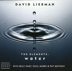 David Liebman - Elements: Water [New CD]