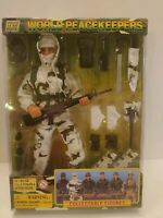"""Action Figure Soldier World Peacekeepers Modern Arctic 12"""" Poseable Power Team"""