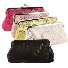 Women Sequins Buckle Clutch Evening Party Bag Handbag Wallet Purse Perfect