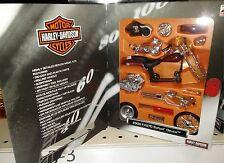 Harley Davidson 2000 FXSTD Softail Deuce Motorcycle Die-cast 1:18 Maisto 5in Kit