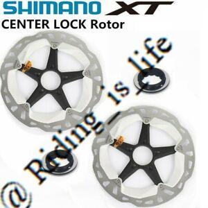 Shimano XT Saint MT800/RT81 MTB Ice-Tech CenterLock Disc Rotor 160MM/180MM/203MM