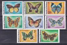 Maldive 1975 Farfalle 557-64 MHN