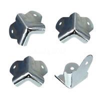 10PCS 40mm Metal 2 Holes Guitar Amp Speaker Box Cabinet Case Corner Protector