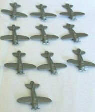 Vintage Diecast Die Cast Airplane Charms