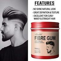 100ml Men Hair Styling Oil Wax Hair Gel Retro Modeling Pomade Strong Hold R7D8