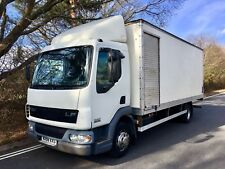 2006 '56' 12 tonner DAF 45.180 Box with tail lift side and rear roller shutter