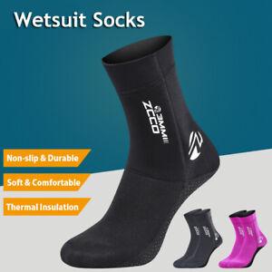 3mm Diving Socks Neoprene Wetsuit Socks Diving Kayak Dinghy Sailing Warm Socks