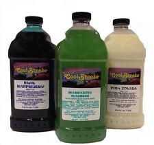 Margarita, Slush, Granita, Frozen Drink Machine Mix FREE SHIPPING 3 Bottles
