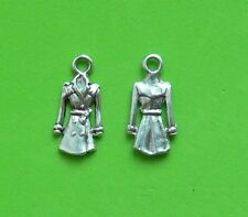 16x Raincoat UK Clothing Coat Winter Tibetan Silver Charm Pendant