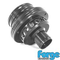 Forge Motorsport Atmospheric Dual Piston Blow Off Dump Valve In Black